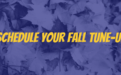 Schedule Your Fall Tune-Up!