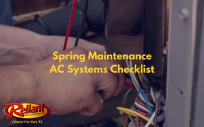 Spring Maintenance AC Systems Checklist