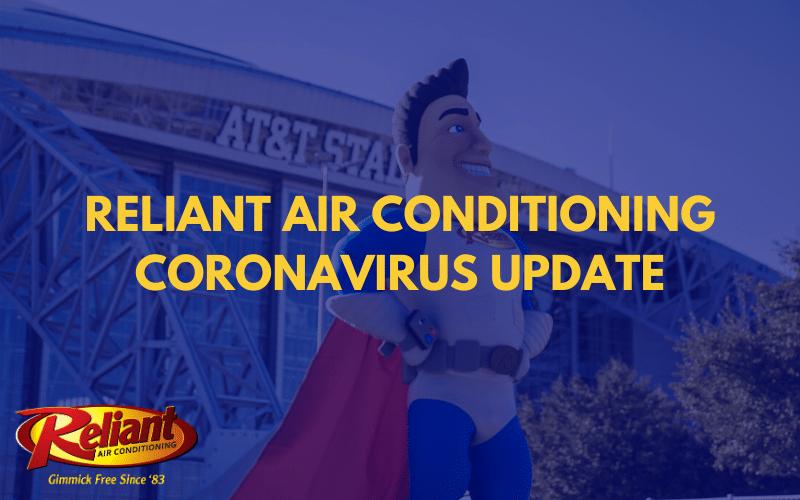 Reliant Coronavirus Update